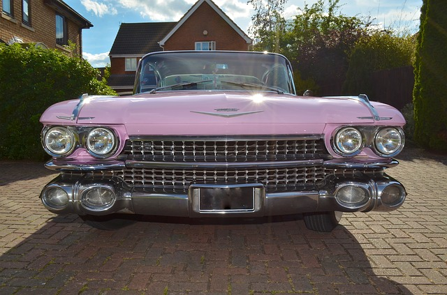 różowy Cadillac